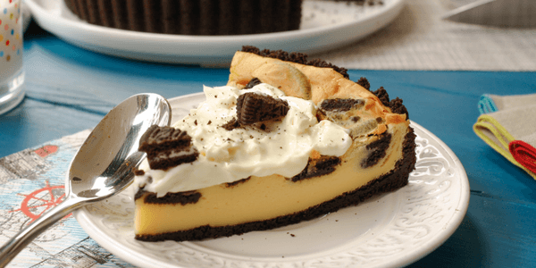 Tartaleta cookies & cream